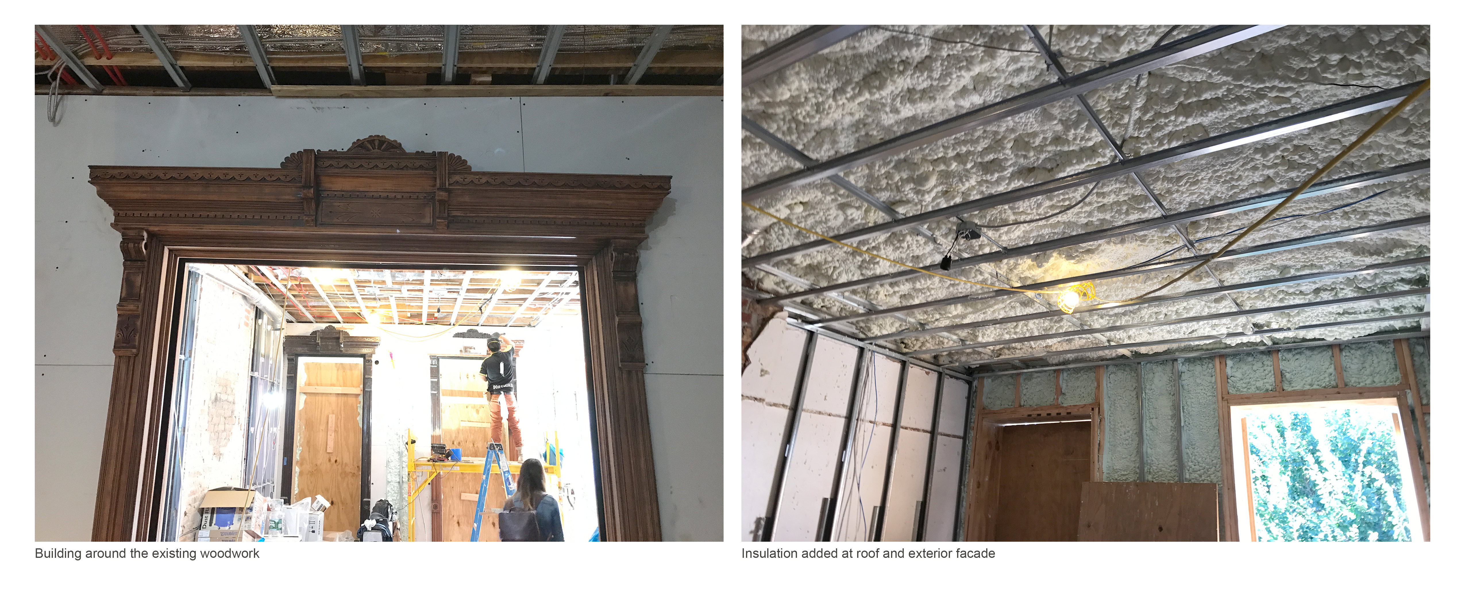 existing and insulation